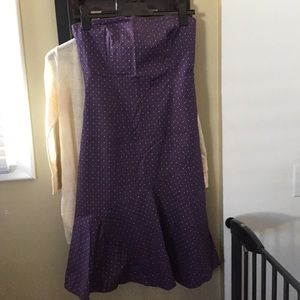 RW&CO strapless dress Size 4